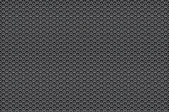 Silver metal white to black pattern background with pentagons. Background wallpaper stock illustration