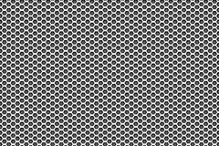 Silver metal white to black pattern background with pentagons. Background wallpaper royalty free illustration