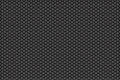 Silver metal white to black pattern background with pentagons. Background wallpaper vector illustration