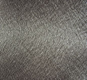 Silver metallic fabric texture royalty free stock image