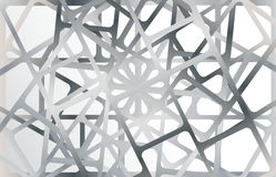 Silver metallic frames on silver background Stock Images