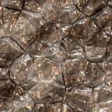 Silver Metallic ore. Illustration of raw metal for background Royalty Free Stock Photography