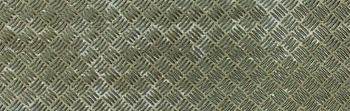 Silver metallic oxide rhombus shapes pattern Royalty Free Stock Photos