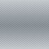 Silver metallic round grid background Stock Photography