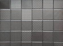 Silver metallic steel background Royalty Free Stock Image
