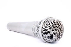 Silver Mic Stock Photo