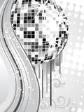 Silver mirror ball Royalty Free Stock Photos