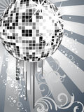 Silver mirror ball Stock Photography