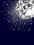 Silver mirror ball Royalty Free Stock Photo