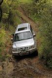 Silver Mitsubishi Pajero DHD Stock Image