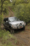 Silver Mitsubishi Pajero DHD Stock Images