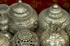 Silver Muttrah Stock Photography