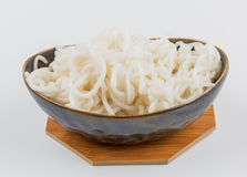 Silver needle noodles (Mi Tai Mu) Stock Photography