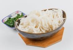 Silver needle noodles (Mi Tai Mu) Royalty Free Stock Images