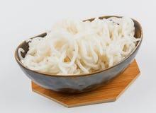 Silver needle noodles (Mi Tai Mu) Stock Photo