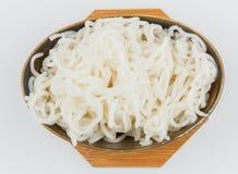 Silver needle noodles (Mi Tai Mu) Royalty Free Stock Photography