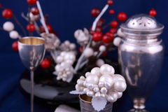 Silver objects Royalty Free Stock Photo