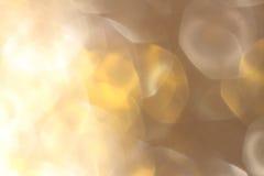 Silver och guld- gnistrandebakgrund Royaltyfri Foto