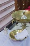 Silver- och kopparredskap Royaltyfri Bild