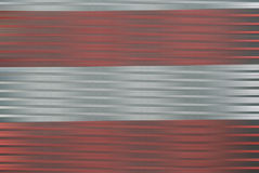 Silver och rött i rörelsesuddighet Royaltyfri Fotografi