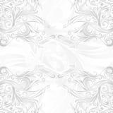 Silver- och vitBatikabstrakt begreppmodell Arkivbilder