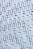 Silver Office building glass wall Royalty Free Stock Images