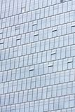 Silver Office building glass wall Royalty Free Stock Photo