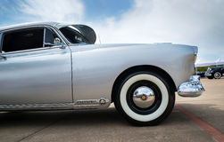 Silver 1949 Oldsmobile Futuramic 88 Fastback Royalty Free Stock Photos