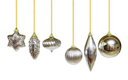 Silver Ornaments Stock Images