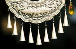 Silver ornaments Stock Photo