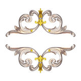 Silver ornate stock illustration