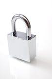 Silver padlock Royalty Free Stock Image