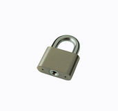 Silver padlock Royalty Free Stock Photography