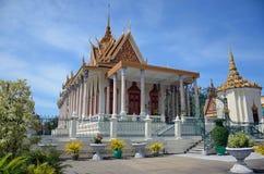 Silver Pagoda Royalty Free Stock Photography