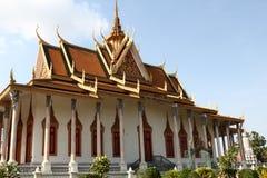 Silver Pagoda Buddhist shrine Royalty Free Stock Photo