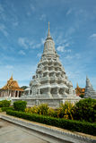SIlver Pagoda Complex, Phnom Penh, Cambodia Royalty Free Stock Images