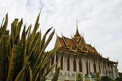 The silver pagoda, phnom penh Royalty Free Stock Images