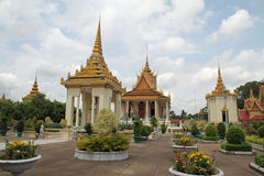 Silver Pagoda in Phnom Penh Royalty Free Stock Photo