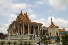 Silver Pagoda in Phnom Penh Stock Image