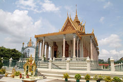 Silver Pagoda in Phnom Penh Royalty Free Stock Photos