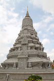 Silver Pagoda in Phnom Penh Royalty Free Stock Photo