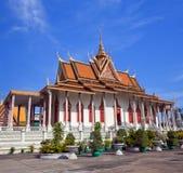 Silver Pagoda in Phnom Penh, Cambodia Royalty Free Stock Image
