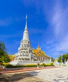 Silver Pagoda in Phnom Penh. The famous Silver Pagoda within the Royal Palace complex in downtown Phnom Penh, Cambodia Stock Photos