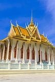Silver Pagoda in Phnom Penh. The famous Silver Pagoda within the Royal Palace complex in downtown Phnom Penh, Cambodia Stock Image