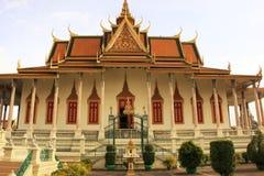 Silver Pagoda, Royal Palace, Phnom Penh, Cambodia Royalty Free Stock Photos