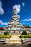 Silver Pagoda. The silver pagoda at the Royal Palace in Phnom Penh, Cambodia royalty free stock images