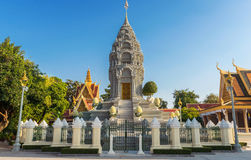 Silver Pagoda / Royal Palace, Phnom Penh, Cambodia Stock Photography