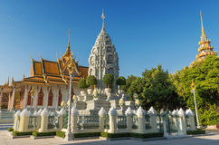 Silver Pagoda / Royal Palace, Phnom Penh, Cambodia Royalty Free Stock Photos