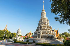 Silver Pagoda / Royal Palace, Phnom Penh, Cambodia. Royal Palace / Silver Pagoda, Phnom Penh, Cambodia Royalty Free Stock Photography