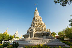 Silver Pagoda / Royal Palace, Phnom Penh, Cambodia Stock Photography